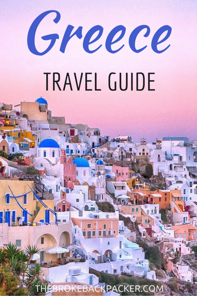 In this Greece Travel Guide we've covered budget, the best itinerary routes for backpacking Greece, and the best places to visit in Greece...