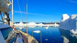 Sailing expedition on an extreme Arctic Adventure