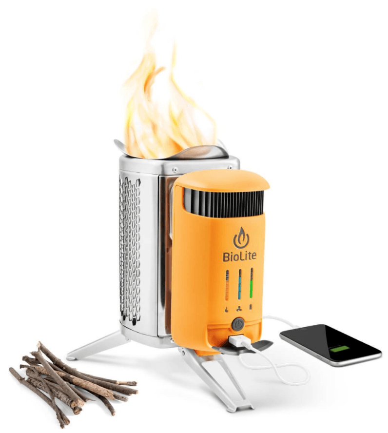 best wood burning backpacking stove - biolite camp stove 2
