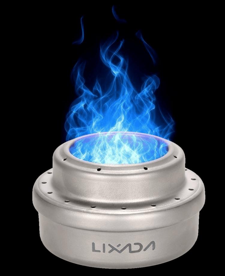 best multi fuel backpacking stove - lixada