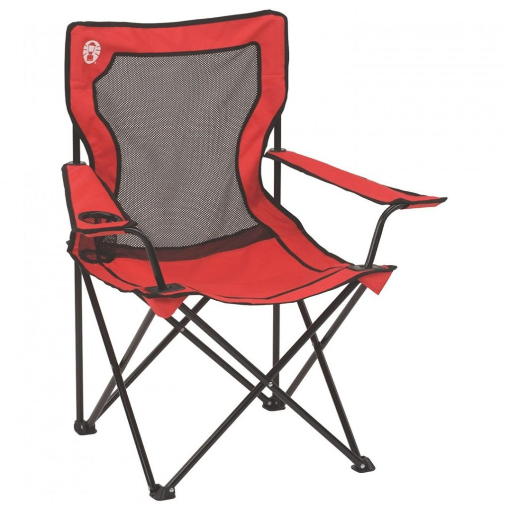 Feel like a boss in the outdoors with this camping chair