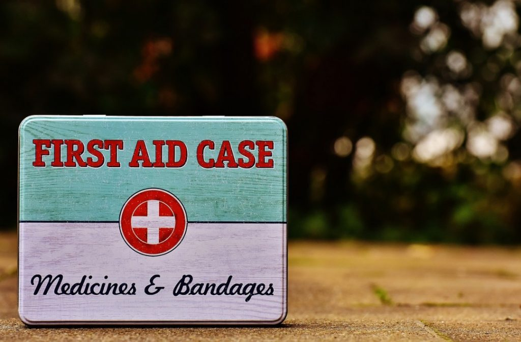 Your camping first aid kit should be spot on