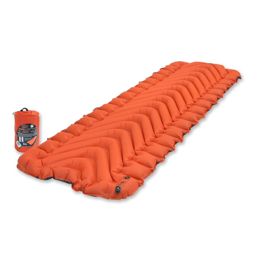 klymit insulated sleeping pad - a gift for backpackers, hikers, and campers