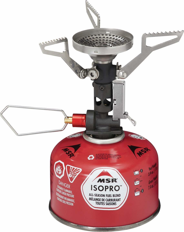 best canister backpacking stove: msr pocket rocket deluke