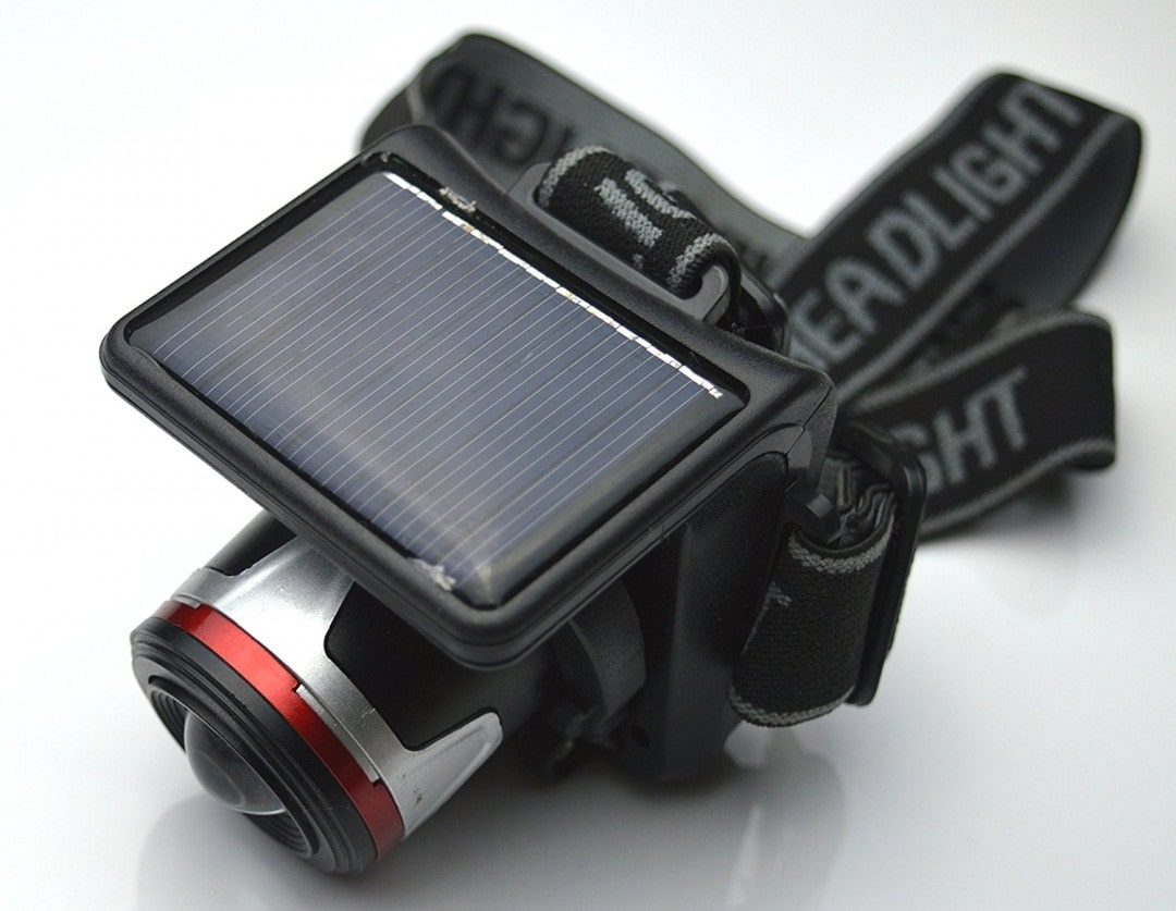 solar headlamp camping essential idea for hikers and adventurers