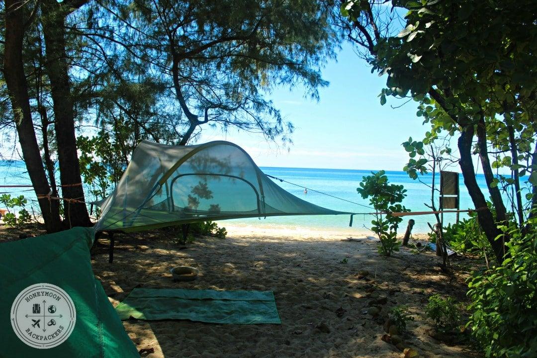 Camping Beach Island Cambodia