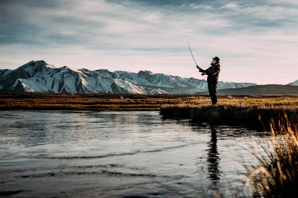 Fishing is both a safer and cheap adventure holiday