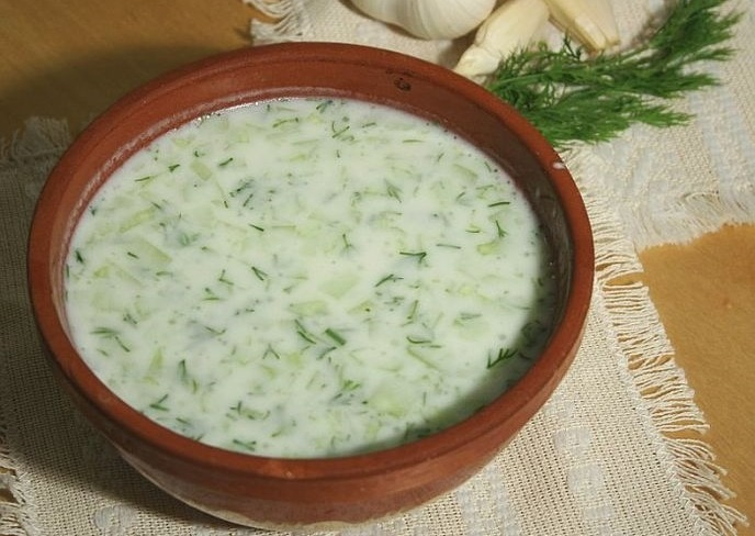 bulgarian food cucumber soup