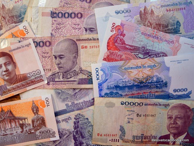 Cambodian Riel Money