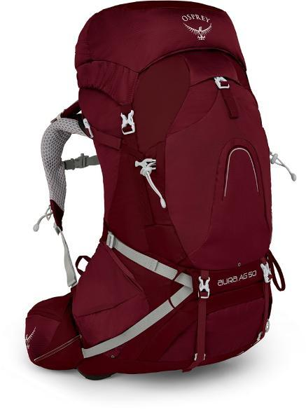 Osprey Aura 50 best travel backpacks for women