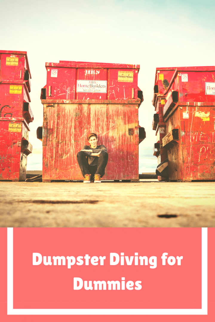Running out of funds on your world wide travel trip? Try dumpster diving to save some cash when it comes to food clothing and the like!