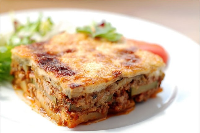 bulgarian food moussaka