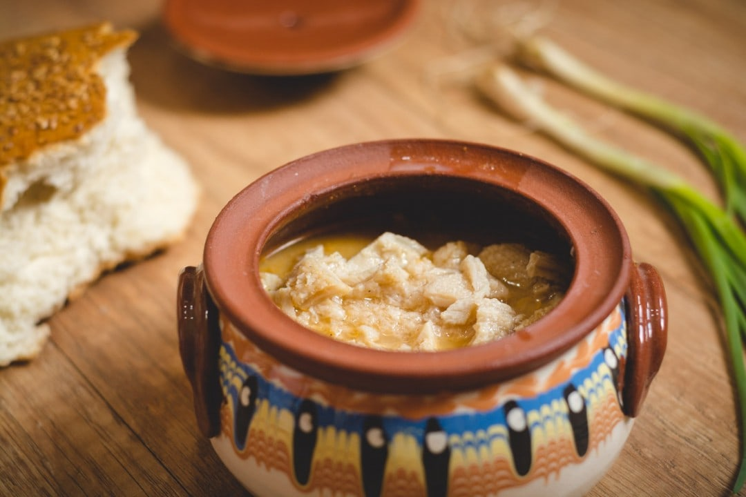 bulgarian food Tripe Soup