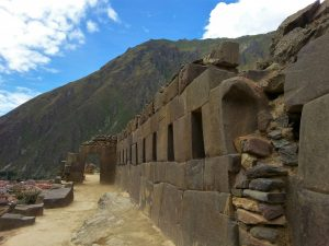 Ollantaytambo -an Inca site of fortress ruins