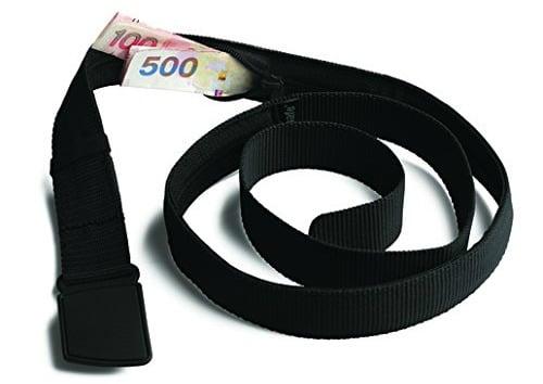 belt is an essential packing list