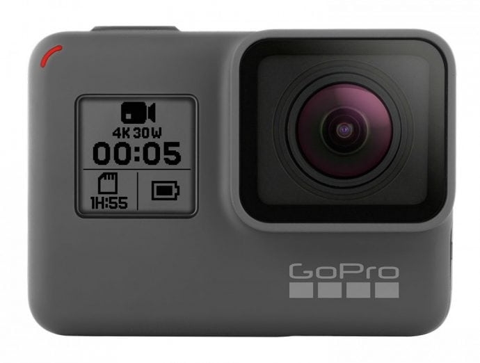 Gopro is is number 1 essential packing list