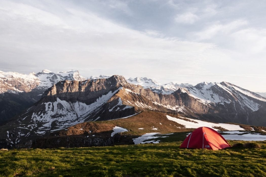 Easiest countries to camp