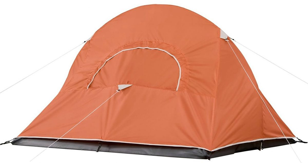 Coleman hooligan motorcycle tent