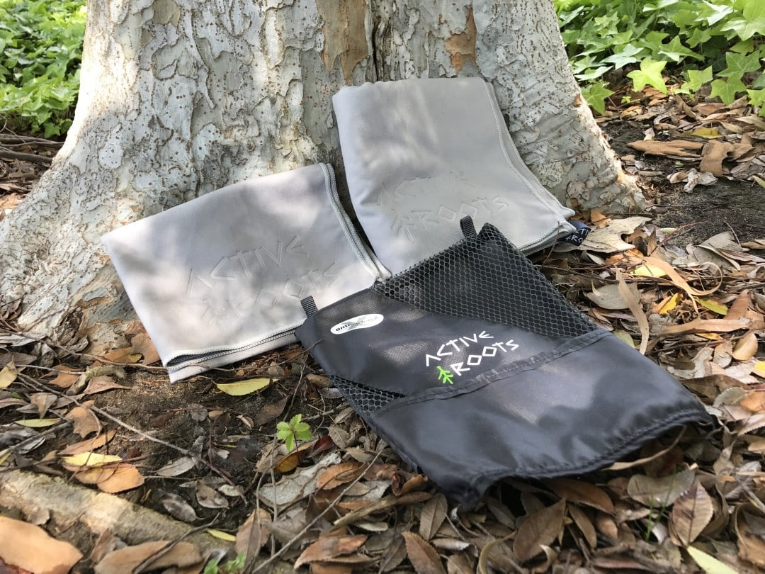 Active Roots microfiber travel towel