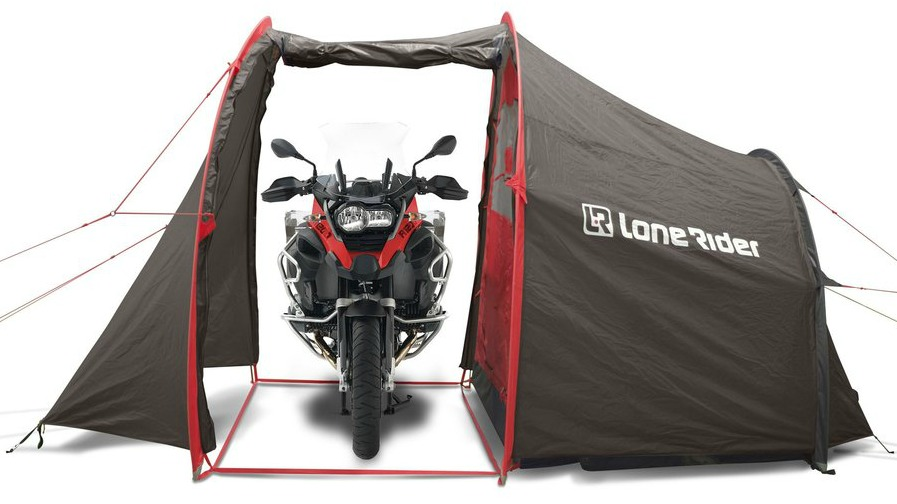 Lone Rider Motorcycle Tent  sc 1 st  The Broke Backpacker : motocycle tent - memphite.com
