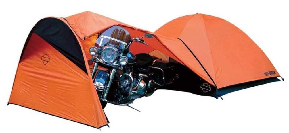 harley davidson sexy motorcycle camping tent