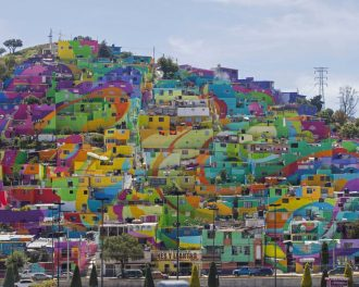 amazing colorful barrio