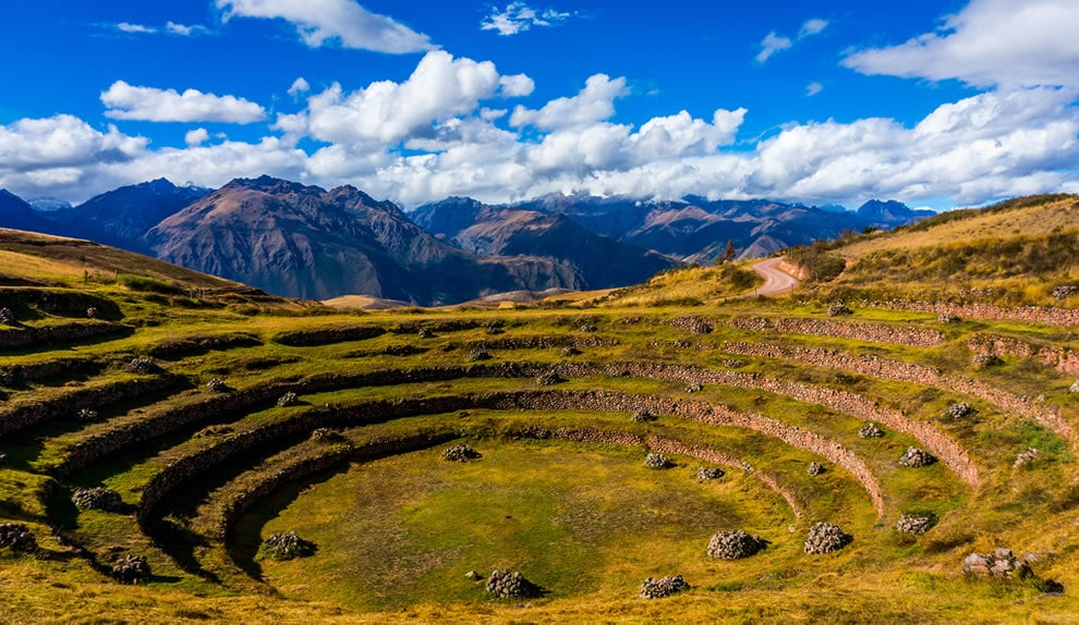 Bizarre Circular Terraces at Moray, a Unique Feature among Inca Sites that aren't Machu Picchu