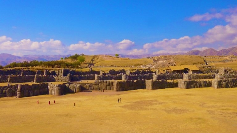 Sacsayhuaman - an Inca site near Cusco in Peru