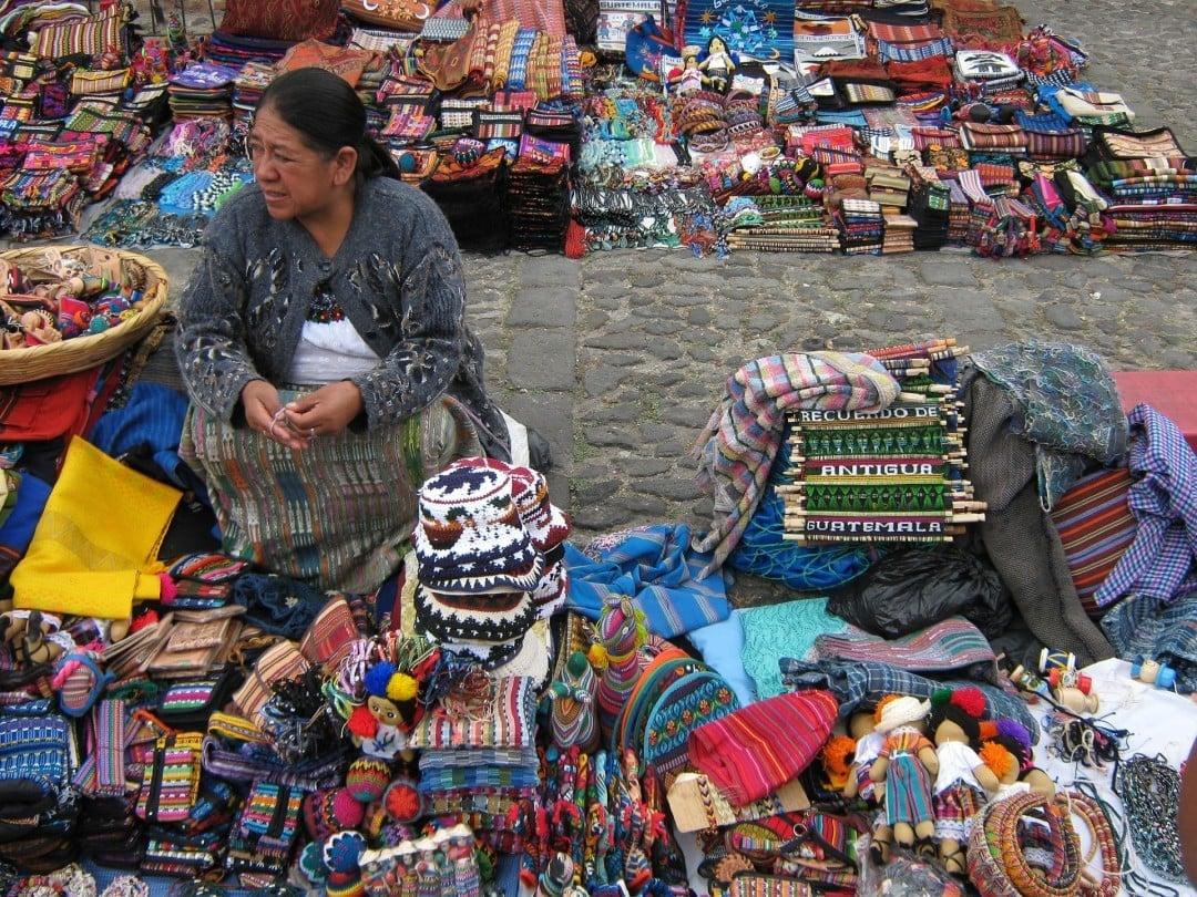 Colourful street markets in Guatemala, Guatemalan culture