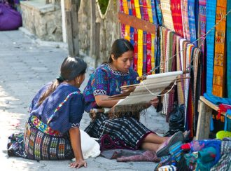Guatemalan culture of weaving