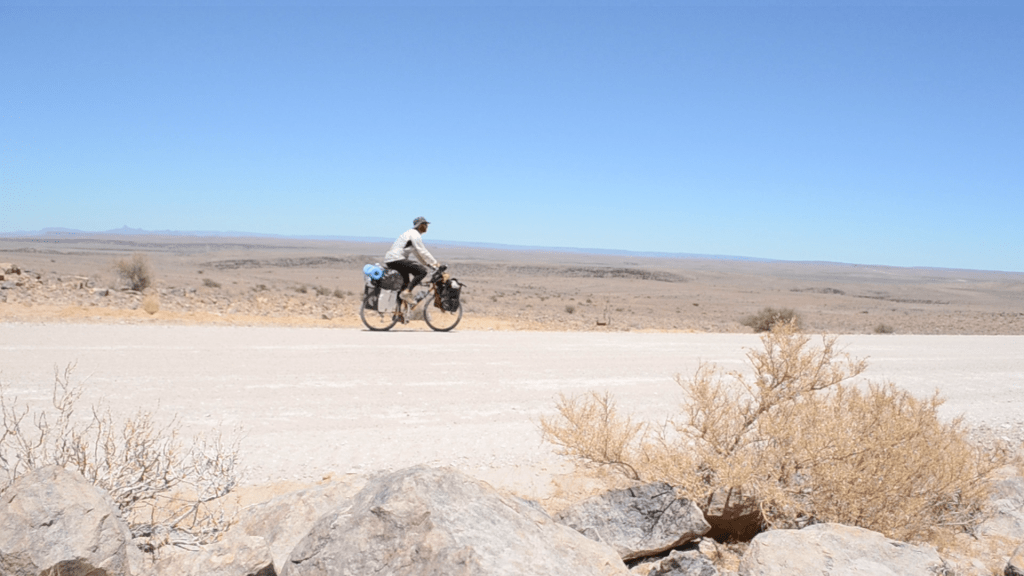 Cycling Namibia