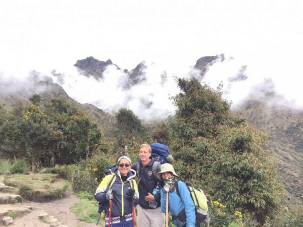 Day 1 of the Machu Picchu hike