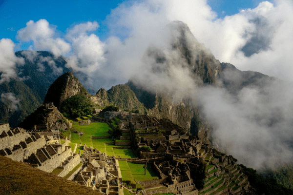 Machu Picchu - the gril at the end of the Inca trek