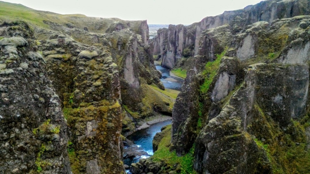 The Canyon of Iceland's Ring Road