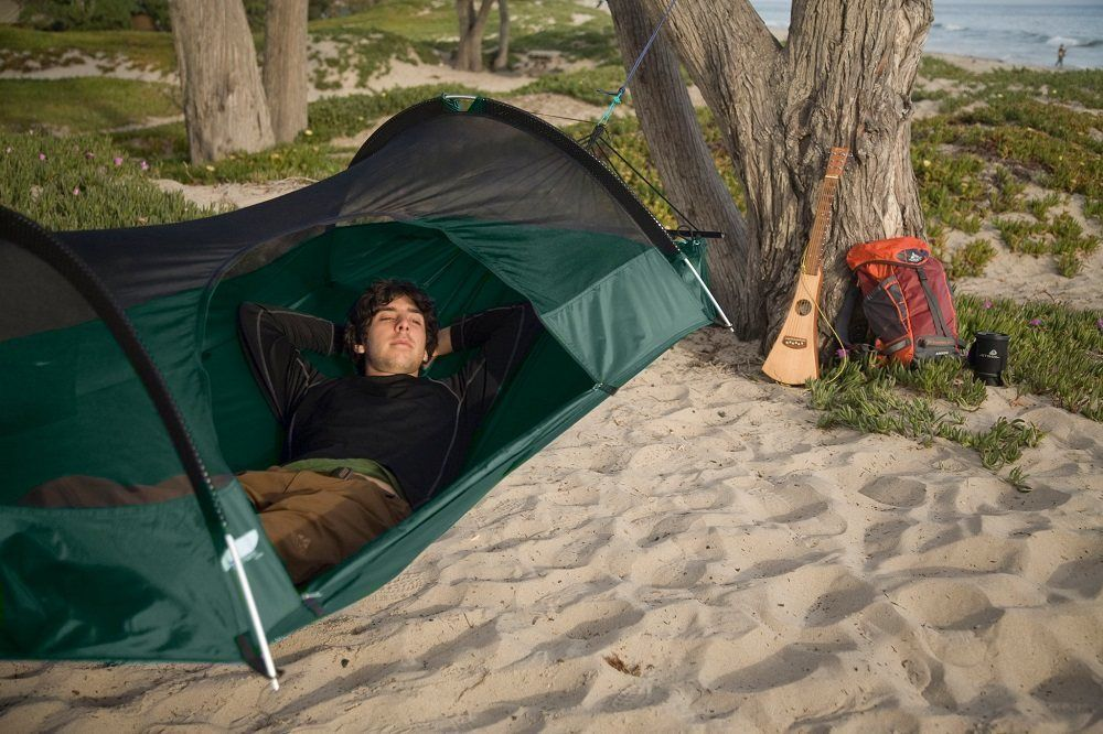 Camping hammocks are a backpacker's best friend when travellng! Check out this post for a full breakdown of the best hammocks to take with...