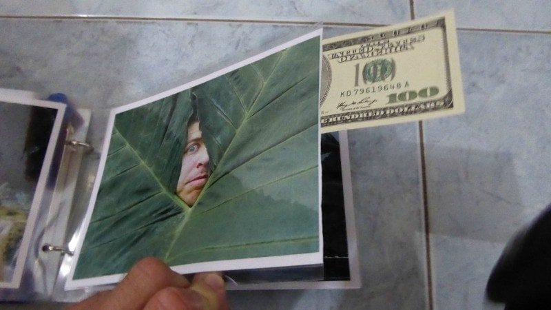 Concealed money for a Venezuela backpacking trip