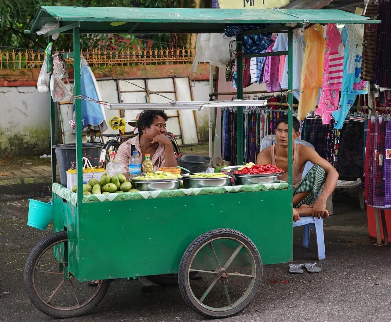 Street Foods, Yangon
