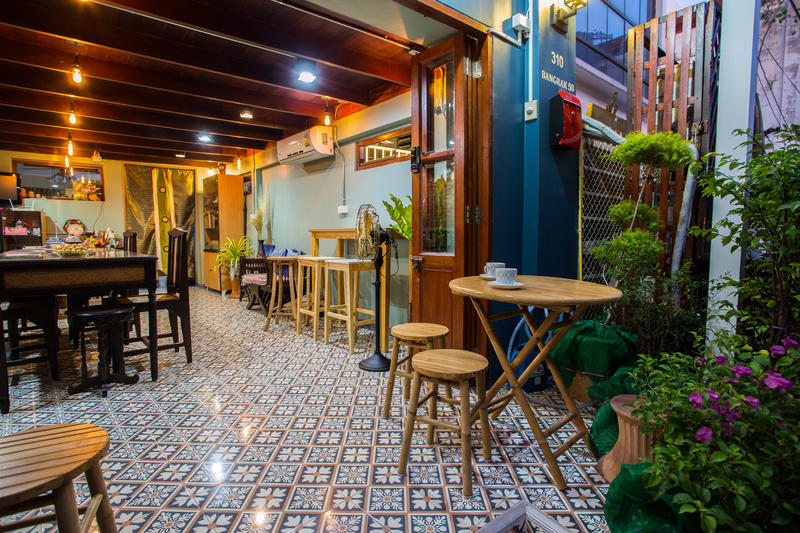 Baan Gaysorn Hostel best hostel in Bangkok