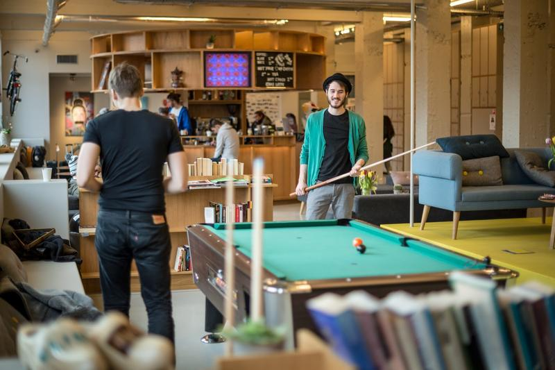 Best hostel in Amsterdam - ClickNOORD