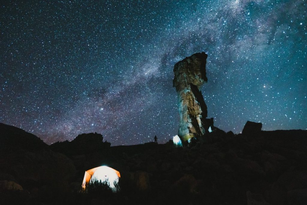 best places to star gaze in south africa