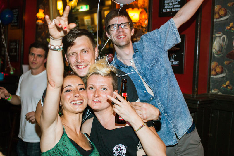 Best Party Hostel in Amsterdam #1 - Flying Pig Downtown