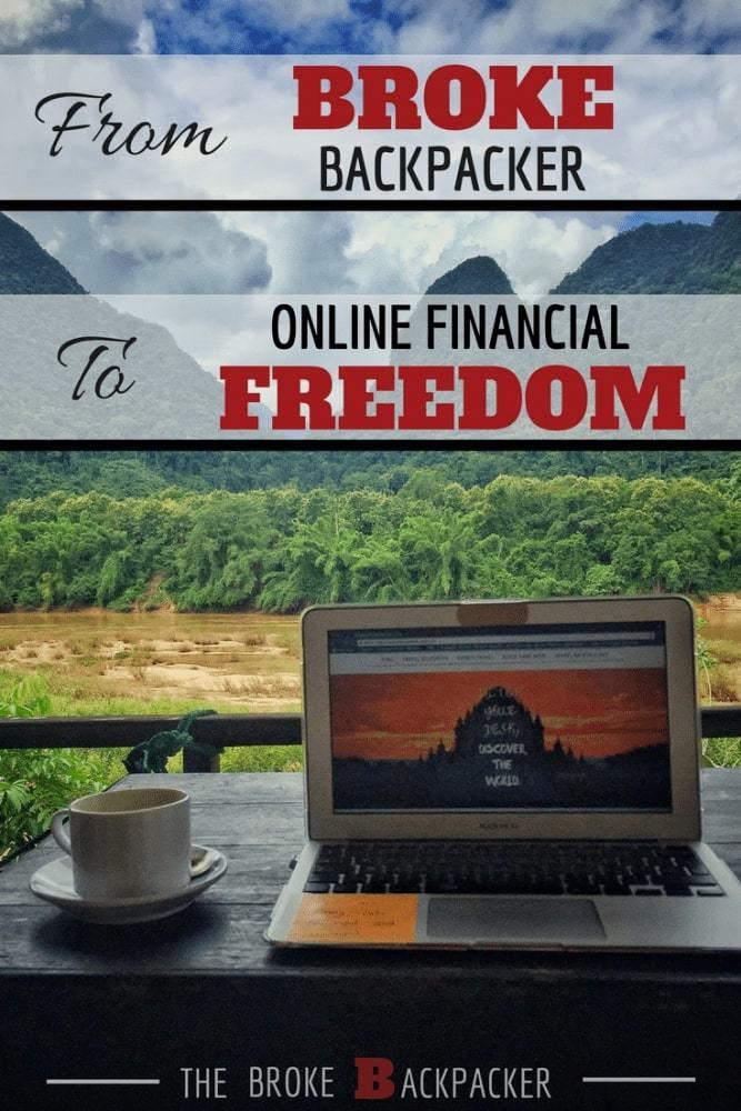 From Broke Backpacker to Online Entrepreneur