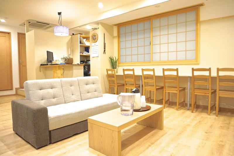 Hostel Rakutsuki best hostels in Osaka