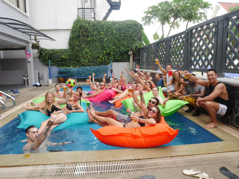 Best Hostel for Solo Travelers in Bangkok - Mad Monkey Bangkok
