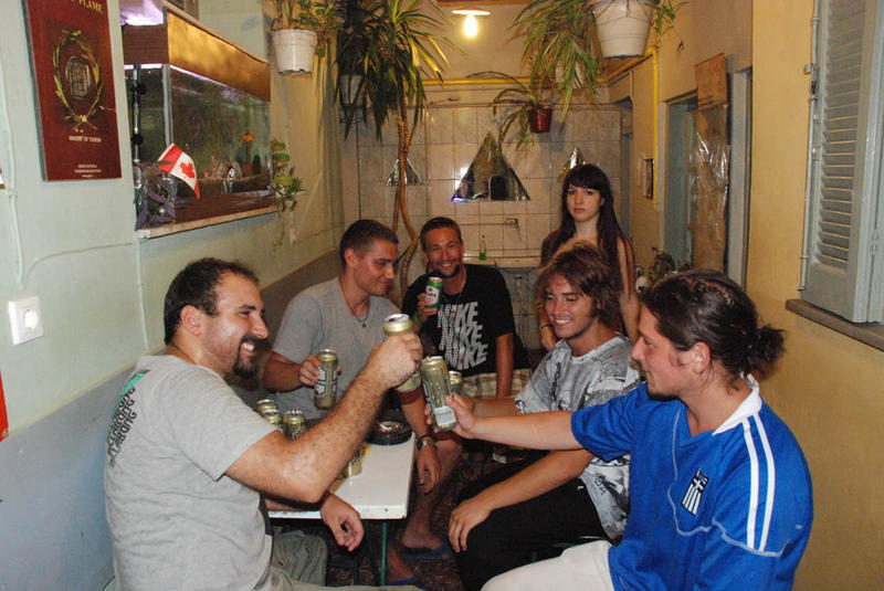 Pragration - a top youth hostel in Athens