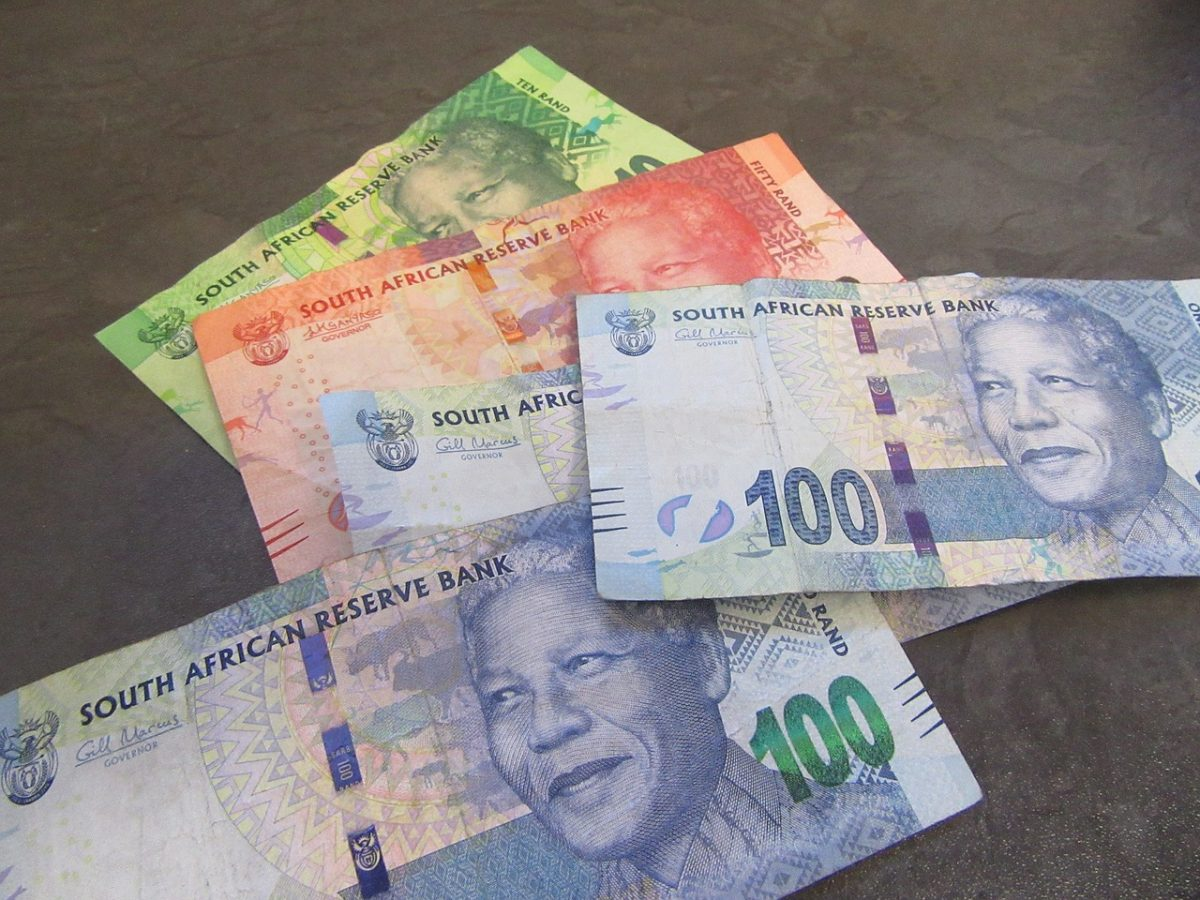money in south africa