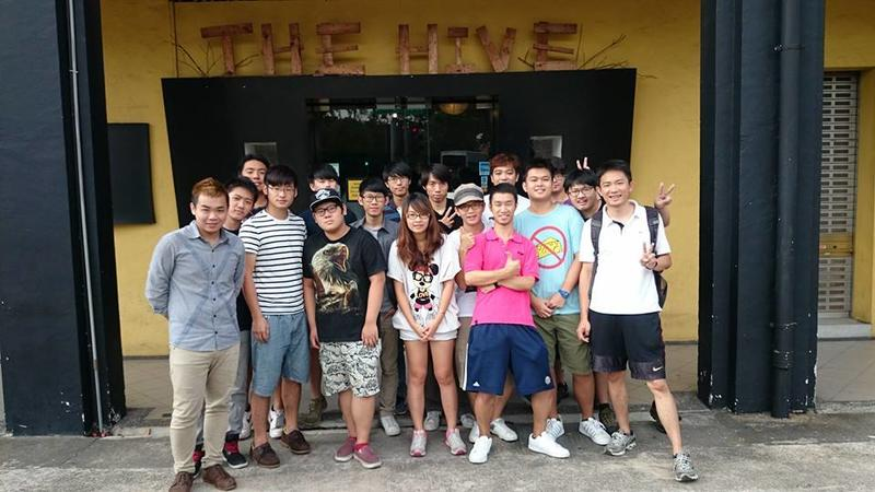 The Hive best hostels in Singapore