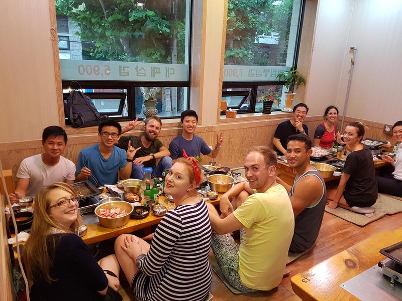 Time Travelers Party Hostel In Hongdae best hostels in Seoul