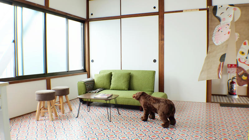 Umbrella House Osaka best hostels in Osaka