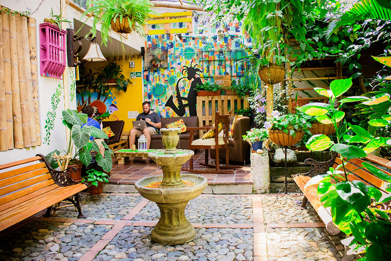 The Garden of Blues Hostal best hostel in Medellin